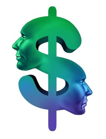 Profits and loss concept