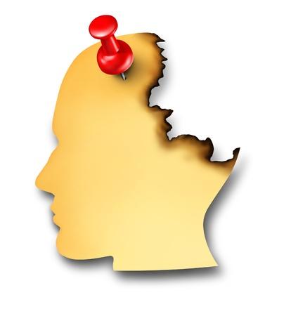 inteligencia emocional: La pérdida de memoria causada por la enfermedad de la demencia y una Alzhiemer