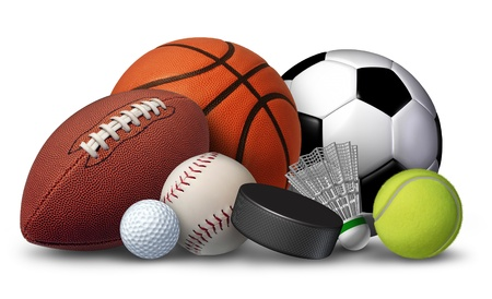 Sports equipment photo