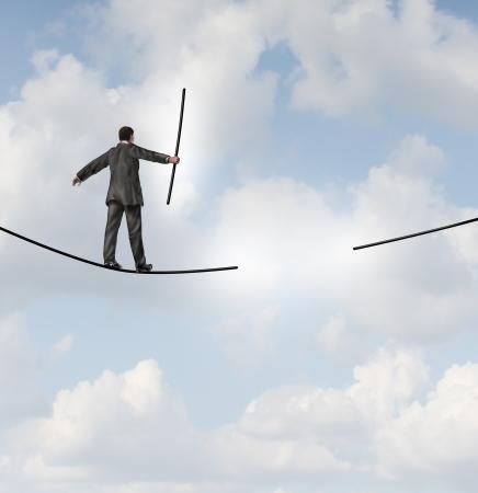 Risk management solutions business metaphor