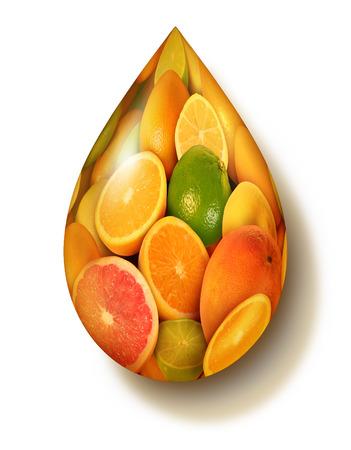 Owoce cytrusowe symbolu z grupy świeżych pomarańczy cytryny wapno mandarynki pomelo i grejpfrutów w kształcie kropli soku jako koncepcji zdrowej żywności i pobudzenia układu immunologicznego, jedzenie soczyste zdrowej żywności ekologicznej pełne naturalnych witamin Zdjęcie Seryjne - 24467711