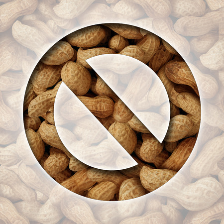 No peanuts and a ban on peanut or nut ingredients photo