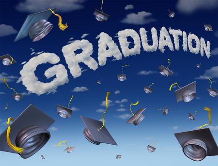 graduation party: Graduation celebration concept