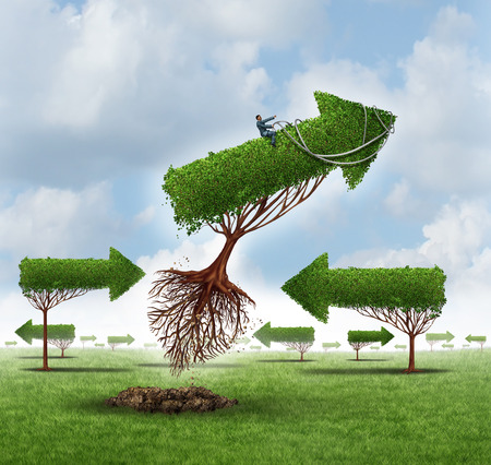 Growth Leadership business concept photo