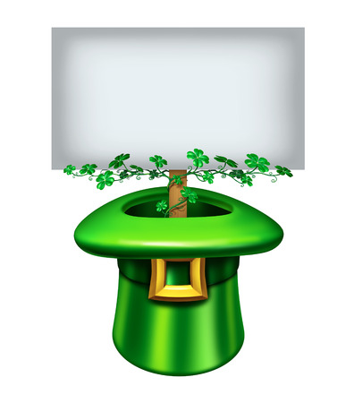leprechaun background: St.Patrick Stock Photo
