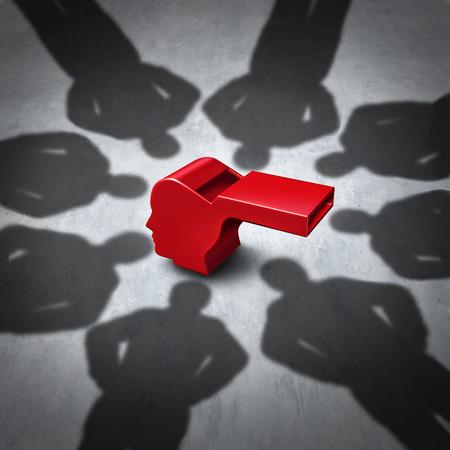 pelea: Intimidación de concepto denunciante y denunciante símbolo tensión