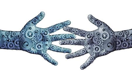 teamwork hands: Working business teamwork concept