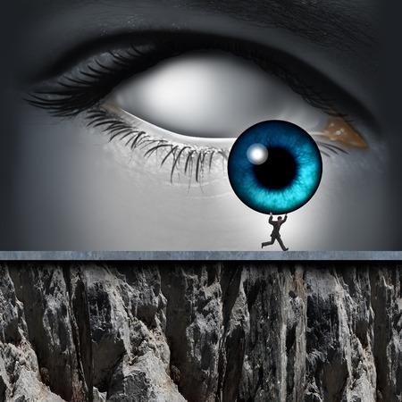 identidad personal: robo de identidad y tener sus datos personales, de forma ilegal por un ladr�n cibern�tico como un criminal Internet robar el iris de un ojo humano como un icono de la tecnolog�a de seguridad. Foto de archivo
