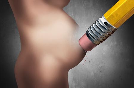 poronienie: Utrata poronienie ciąży lub utracie dziecka jako samoistnego poronienia lub śmierci dziecka nienarodzonego jako medycznej koncepcji do utraty ciąży jako płodu ludzkiego wewnątrz macicy kobiety są kasowane przez ołówek z elementami 3D ilustracji.