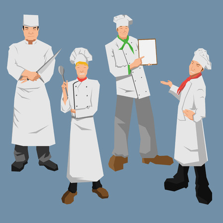 Chef charactor Banque d'images - 30822455