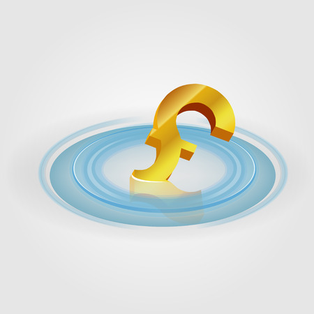 Pound_Ripple_Currency Vector