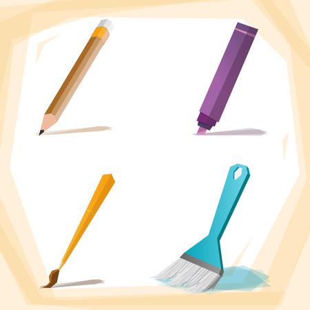 painting brush: Painting Brush Illustration