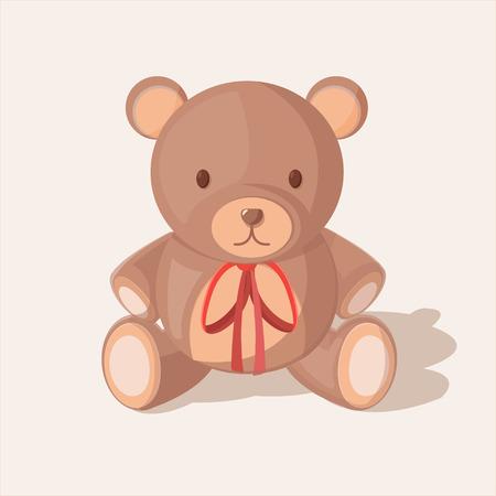 bear doll: Bear Doll Objects Sweet Cute Vector