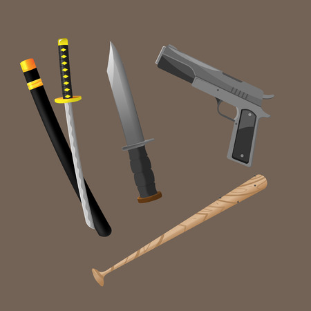 crime: Weapon Fight Crime Security Set