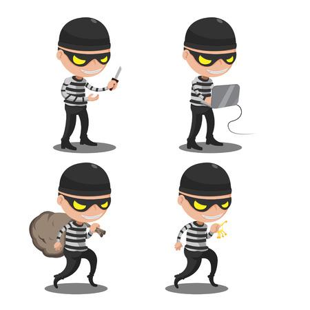 looting: Thief Mask  Steal Cartoon Character