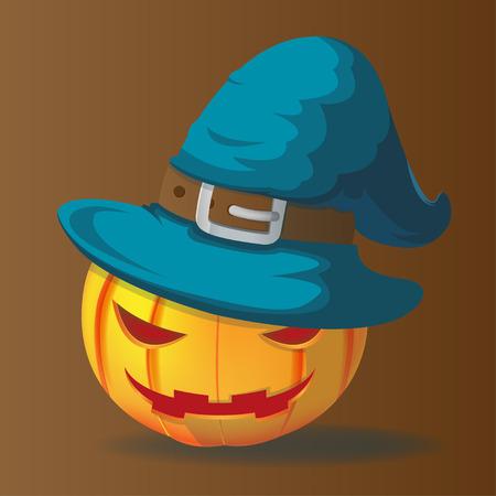 pointy hat: Pumpkins Halloween Charactor Magic Wizards