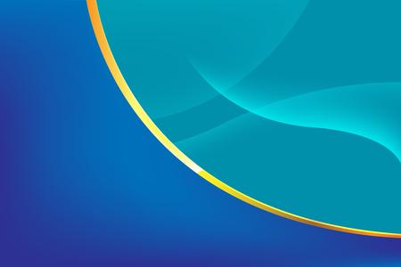 curve line: Abstract Blue Line Curve Background Vector Illustration