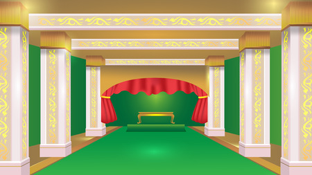 stateroom: Stateroom Green Luxury Design Background Vector