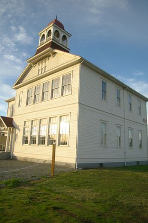 school house: Casa de la vieja escuela del siglo