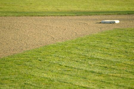 baseball diamond: Basepath