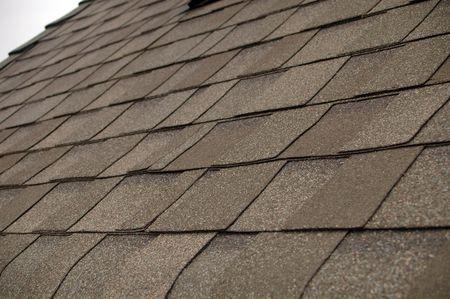 コンポジションの鉄片屋根