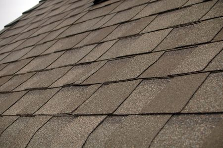 Composition Shingle Roof Stock Photo - 5843253