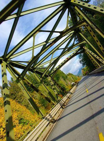 Bridge Crossing Stock Photo
