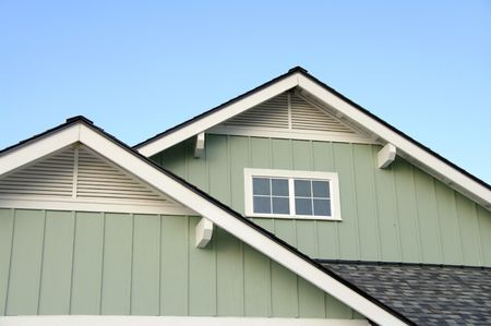 Roof Top Eaves Stock Photo - 7002695