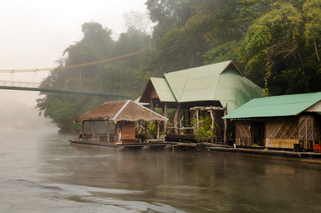 namtok:  Thailand  River Kwai Stock Photo