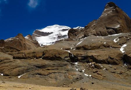tibetan house: Tibet. Mount Kailash.