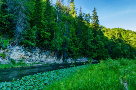 urals: Mountain River Lemeza in the southern Urals. Russia