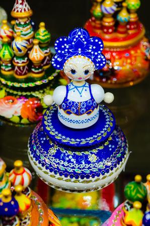 matreshka: Russian national dolls matreshka