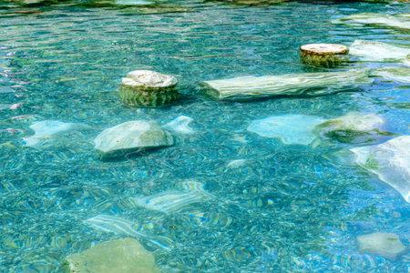 pamukkale: Hierapolis Hot Springs. Pamukkale. Turkey