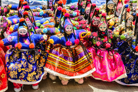 curio: Traditional dolls from Cappadocia, Turkey