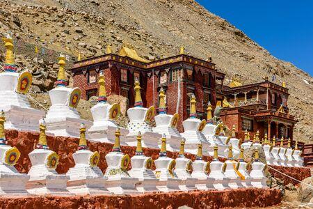 Dirapuk Monastery near the northern face of Mount Kailash. Tibet