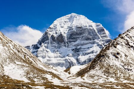 Mount Kailash. North face Stok Fotoğraf