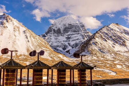 Mount Kailash. North face Stock Photo