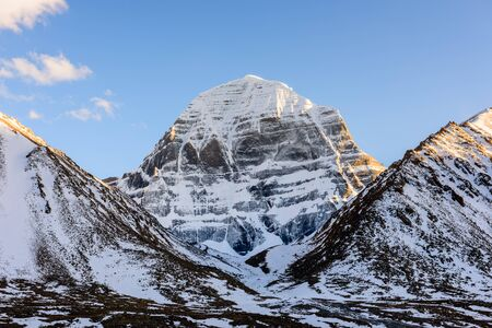 Mount Kailash. North face Stockfoto