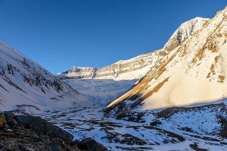 Death Valley near Kailash Mountain. Tibet