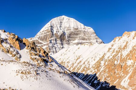 Mount Kailash. North face Imagens