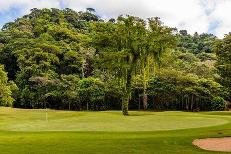 Paisaje en el campo de golf. Costa Rica. Centroamérica
