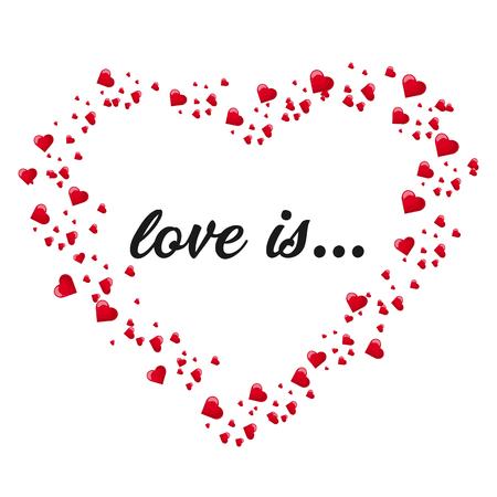 A big heart of many small hearts.