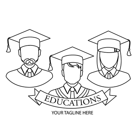 Student line icon. Set of icons. High quality black outline logo for web design and mobile applications.