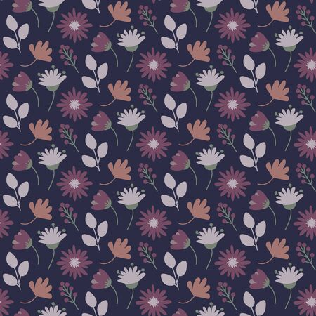 Floral pattern in a small flower  イラスト・ベクター素材