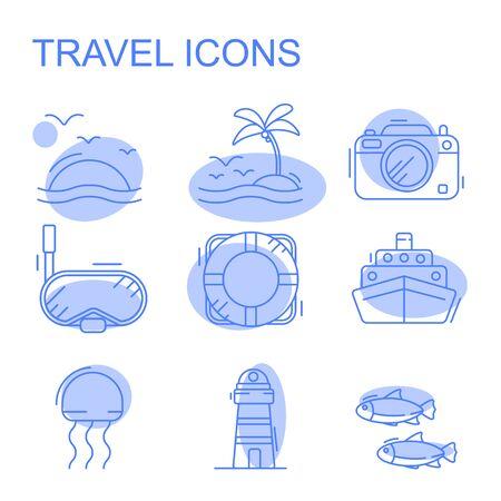 Modern infographic vector logo pictograph collection concept.