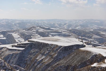 loess: Snow Loess Plateau