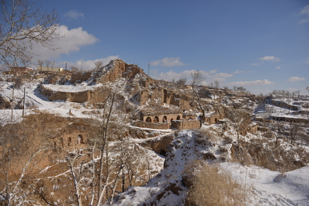 loess: A small village on the Loess Plateau