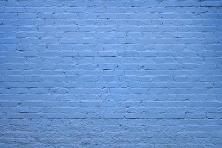 isolator: Square blue brick wall background Stock Photo