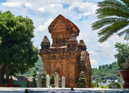 po: Po Nagar Cham towers in Nha Trang, Vietnam.