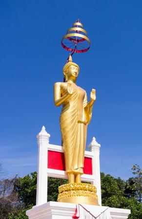 persuading: The attitude of persuading the relatives not to quarrel ; Buddha Posture